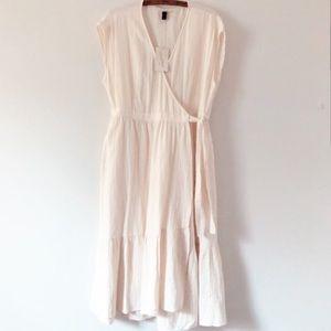 Universal Thread Linen Wrap Dress